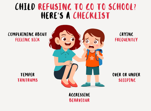 Child Refusing to go to School? – Here's a Checklist