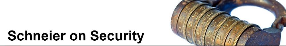 Schneier on Security Banner