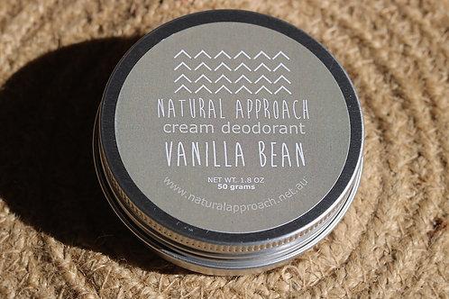 Vanilla Bean Natural Approach Deodorant