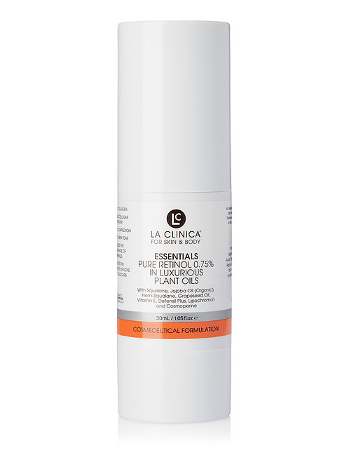 ESSENTIALS PURE RETINOL 0.75% IN LUXURIOUS PLANT OILS