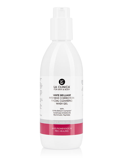 WHITE BRILLIANT INTENSIVE CORRECTION FACIAL  CLEANSING WASH GEL