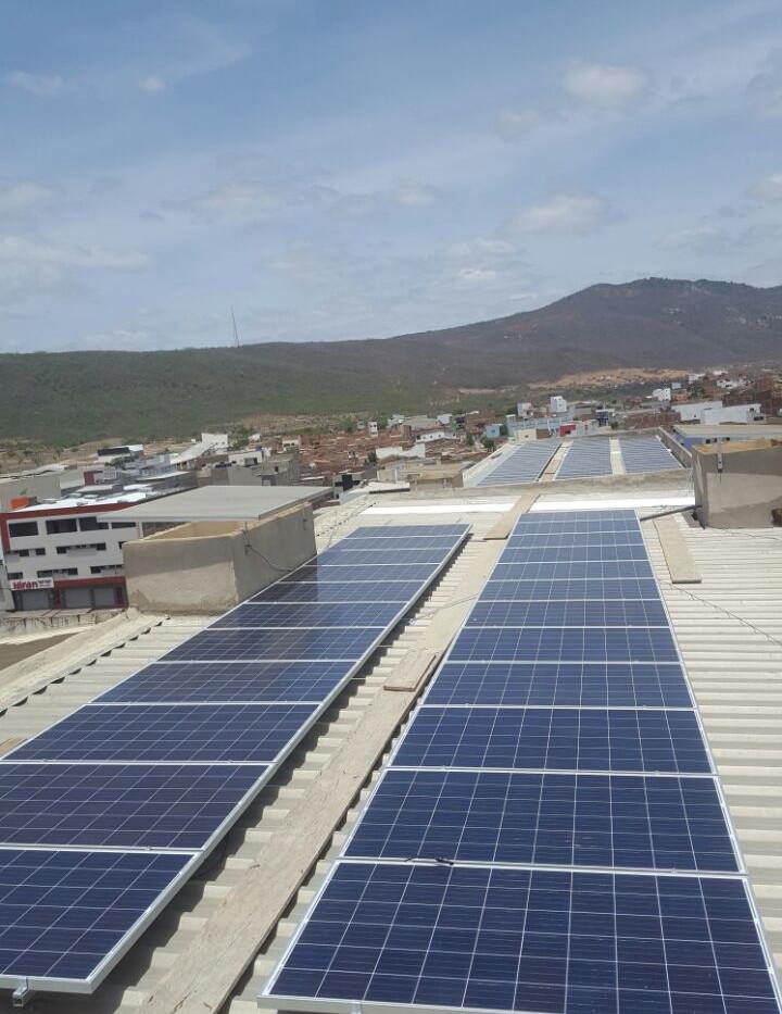 Painéis solares indústria