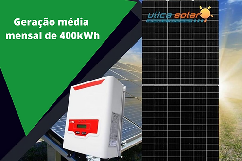 Kit de Energia Fotovoltaico com potência de 3,40 kWp