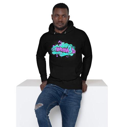 DJ HollyW8D Graffiti - Unisex Hoodie