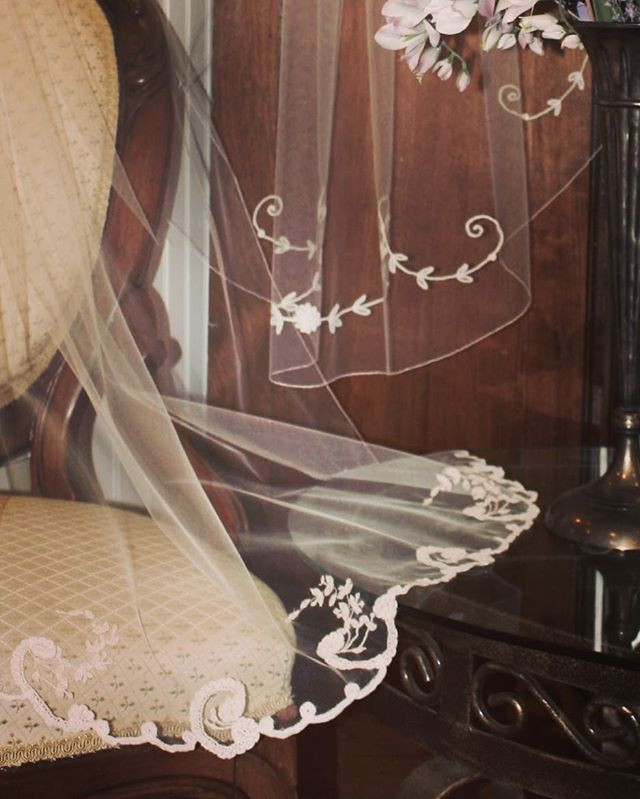 limited edition vintage lace veils