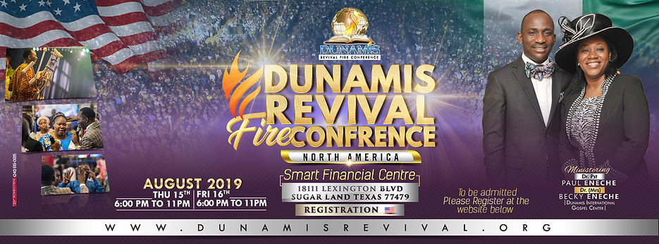 DUNAMIS REVIVAL FIRE CONFRENCE Facebook