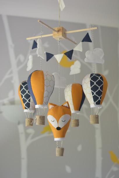 Fox hot air balloon