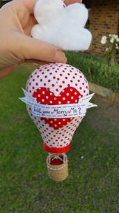 Hot Air Balloon ring box