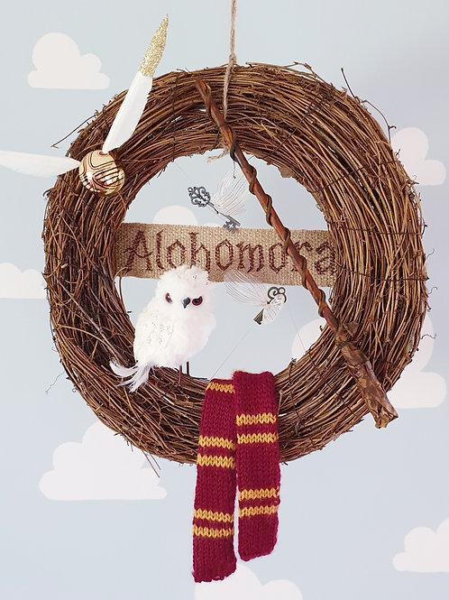 Door welcome wreath