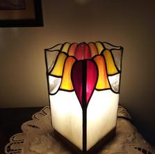 Tiffany hasáb lámpa