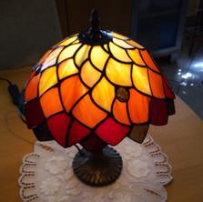 """""""Őszi levelek"""" Tiffany lámpa"""
