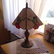 Virágos tiffany lámpa