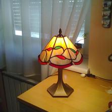 Tiffany lámpa levelekkel