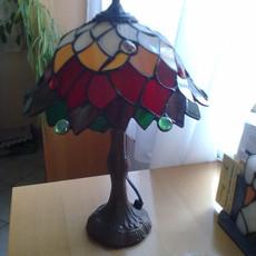 """""""Levelek"""" Tiffany lámpa"""