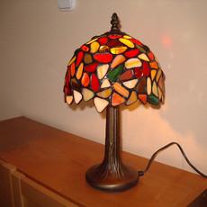 Tűzgömb tiffany lámpa
