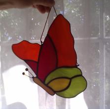 Tiffany pillangó