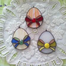 Tiffany húsvéti tojás masnival
