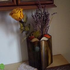Tiffany váza hullámokkal
