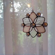 Tiffany hópehely ablakdísz