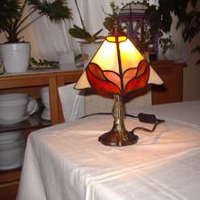 Hullámok tiffany lámpa