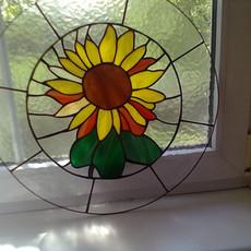 Tiffany térelválasztó ablak üveg