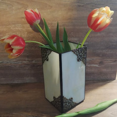 Tiffany váza filigree-vel