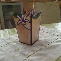 Liliomos tiffany váza