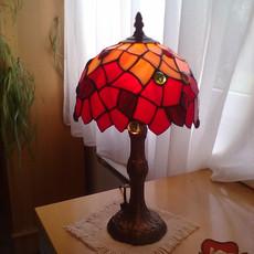 Absztrakt tiffany lámpa
