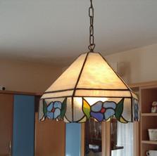 Függő tiffany lámpa