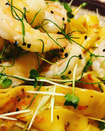 Microgreens Shimp Pappardelle