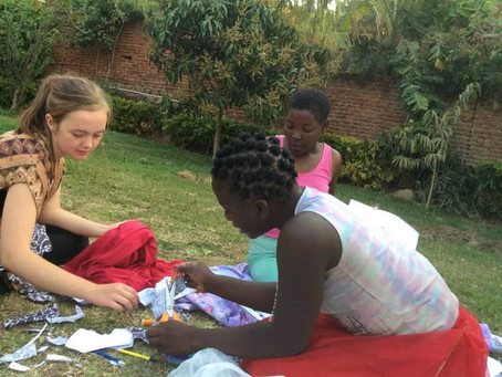 Inspired young volunteer funds bright futures for STEKA Centre street kids