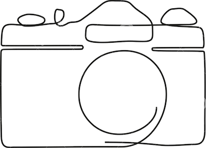 one-line-drawing-camera-black-image-isol
