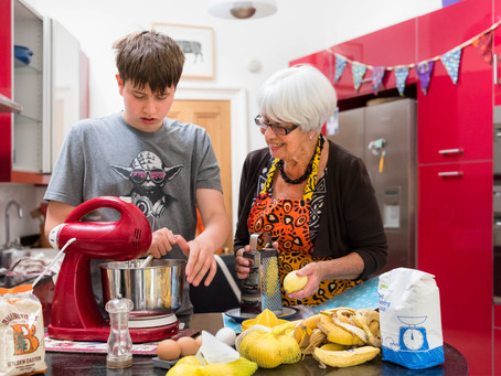 James (age 15) has made more than £500 baking cakes using his granny's recipes ...
