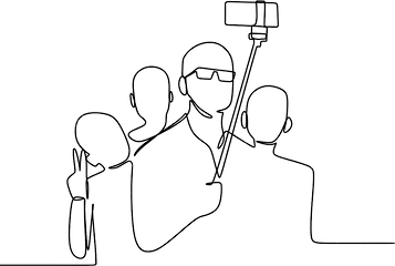 pngtree-one-line-drawing-of-a-group-of-p