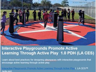 Interactive Playgrounds Promote Active Learning Through Active Play [CEU Webinar]