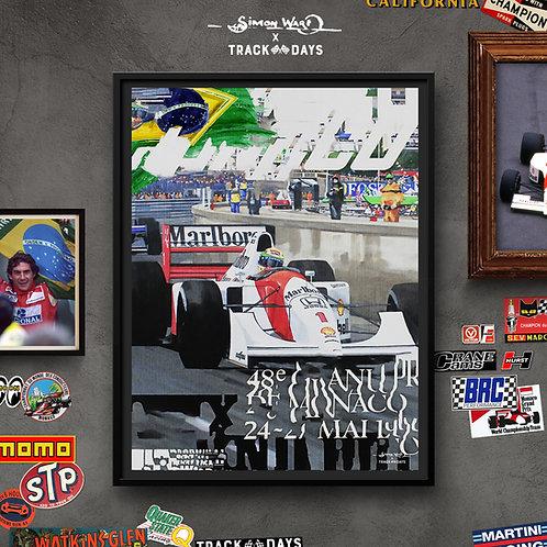Senna - Monaco '92