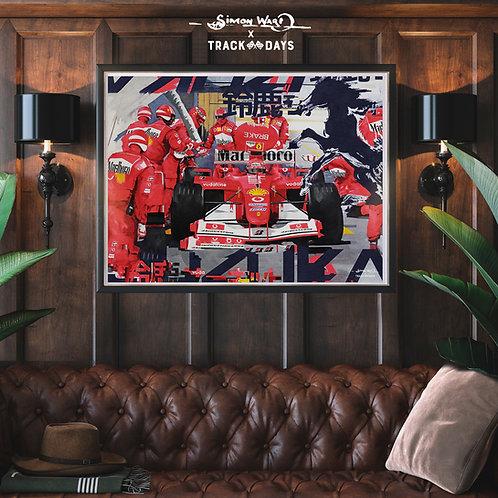Schumacher - Suzuka '03