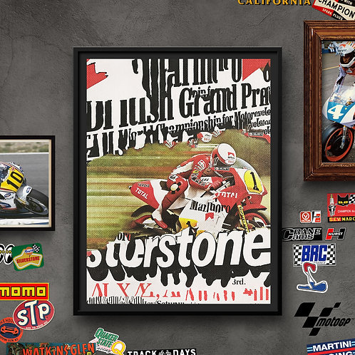 Silverstone GP 85'