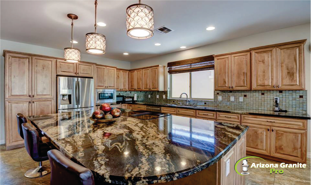 Kitchen Countertop-Exotic granite