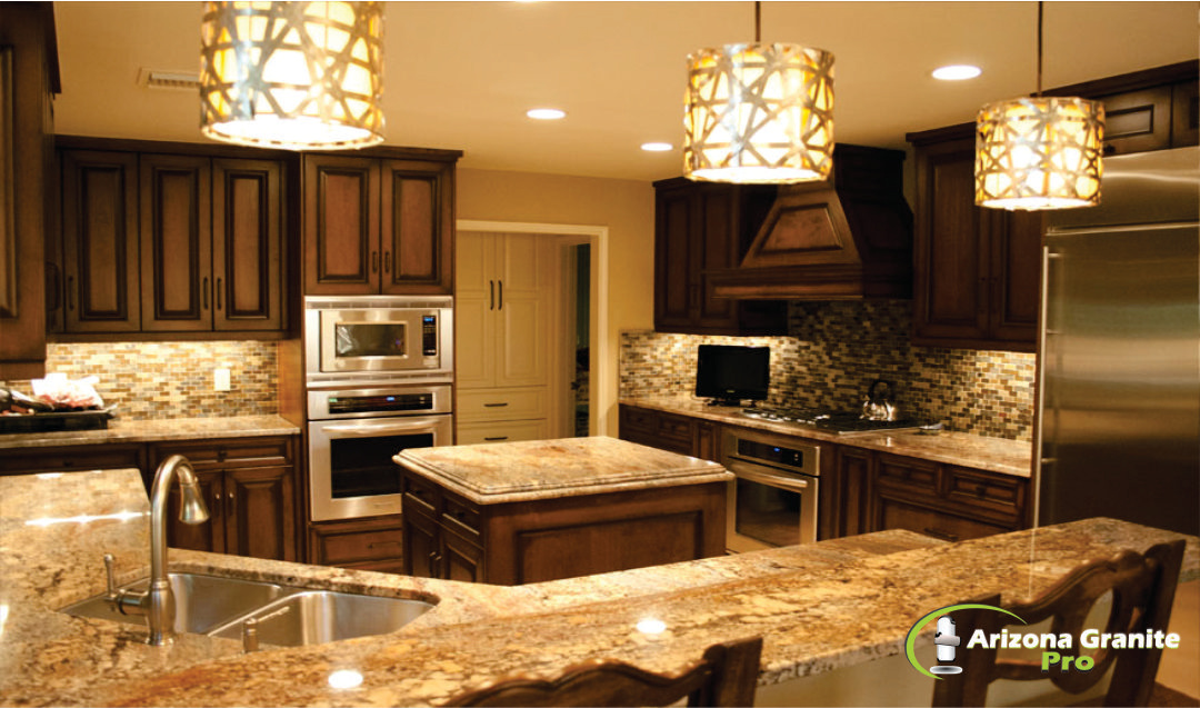 kitchen countertops. Granite