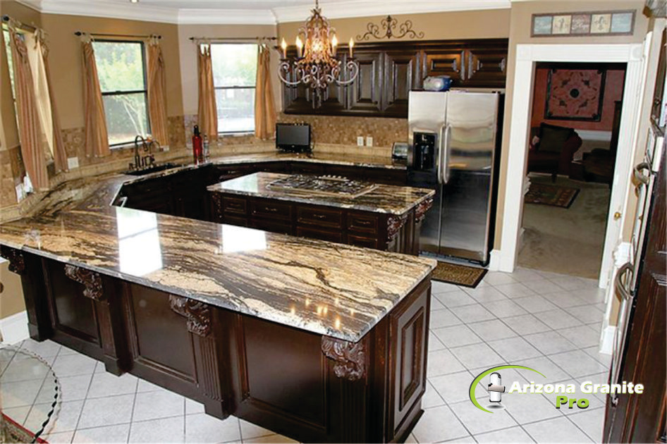 kitchen. Countertops .