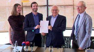 RTL Klub: Együttműködési megállapodást írt alá a V21 és a Momentum Mozgalom