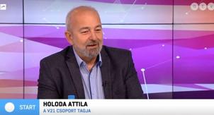 Holoda Attila az ellenzéki kerekasztalról