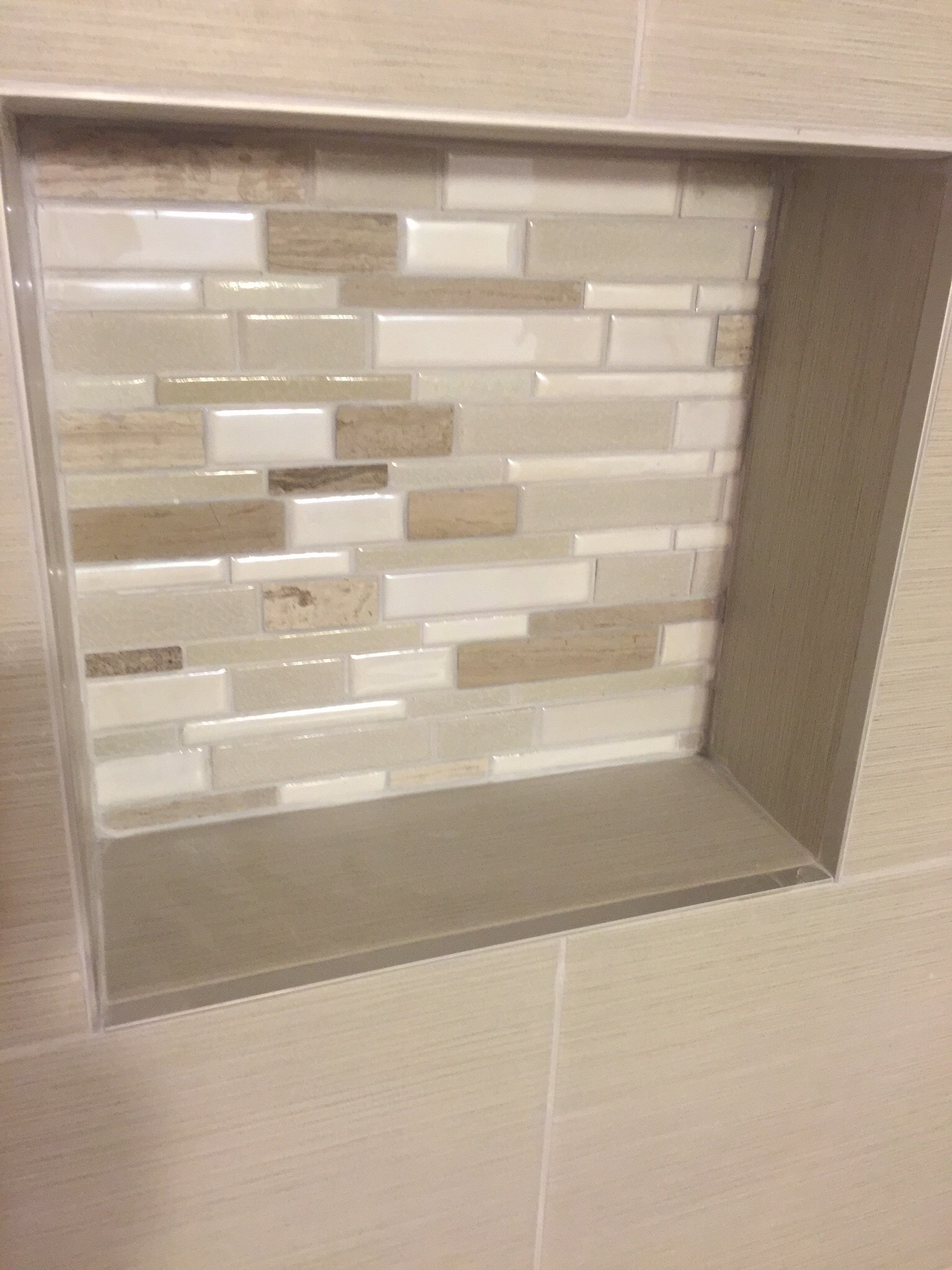 Tile Niche Shower Install