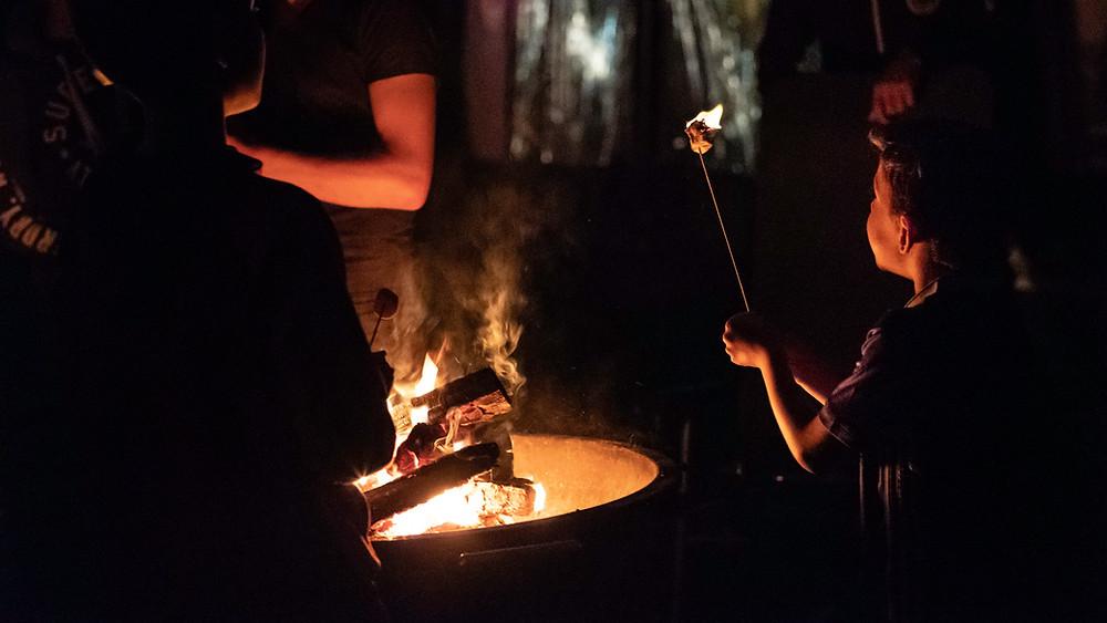 campfire foto