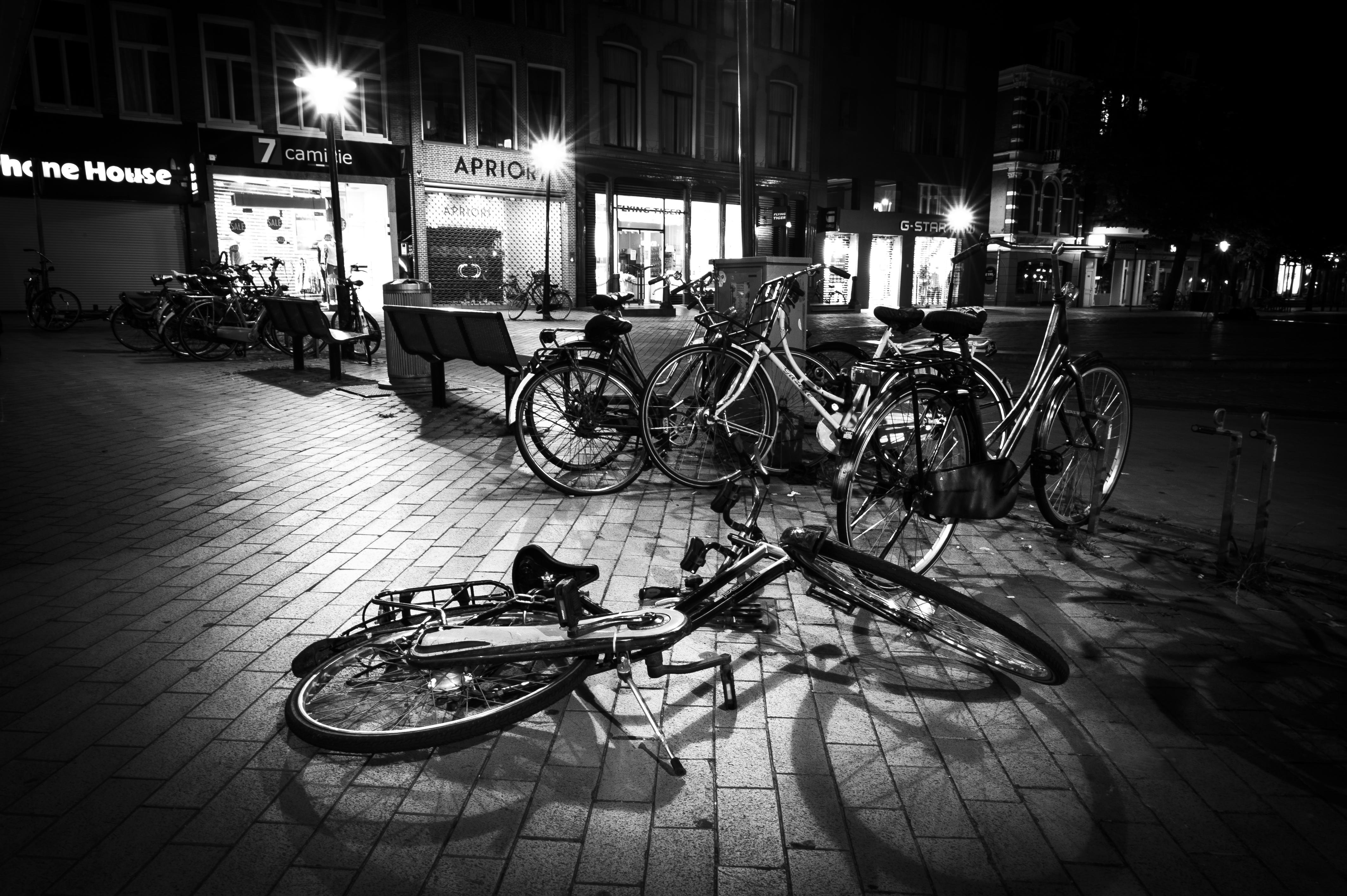 fiets groningen foto