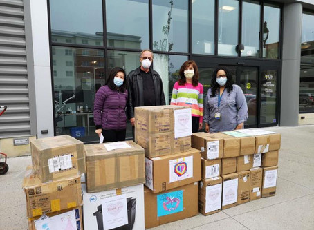 Another Donation Delivery to URMC