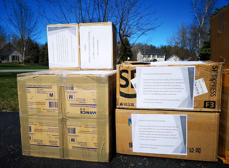 Another Delivery: Donation to Rochester Regional Hospital