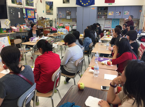 教学研讨会:关于中低年级的中文教学