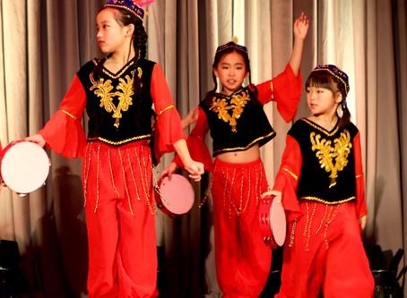 中文学校舞蹈班风采 - 罗切斯特华人联合会新春联谊会